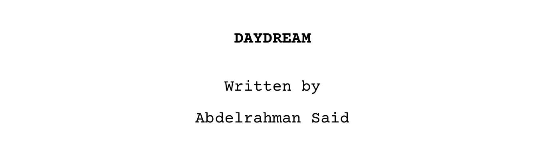 Daydream screenplay